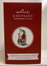 Christmas Window KOCC Member 2020 Hallmark Ornament MIB