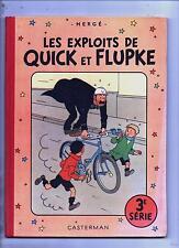 Hergé. Les Exploits de Quick et Flupke 3e série. Casterman 1954. B10