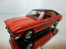 DETAILCARS - FORD CAPRI 2600GT 1969 - RED 1:43 - EXCELLENT CONDITION -37