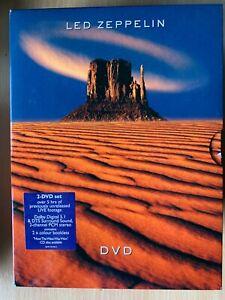 Led Zeppelin DVD Live Rock Music Concert Compilation 1970-1979 2-Disc Box Set
