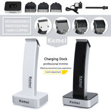 Rechargeable Hair Clipper Electric Shave Machine Razor Trimmer Haircut Set Black