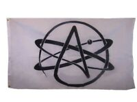3x5 3'x5' Atheist Symbol Super Polyester Flag Athiest Banner Fade Resistant