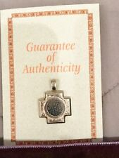 Widow's Mite Bronze Coin Sterling Silver Pendent & Certificate Of Authenticity!