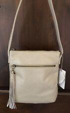 Nwt Women's Hobo International Leather Crossbody Bag Purse, Sarah, Linen