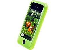 Gel Silicone Skin Case Green For Apple iPhone 3G S