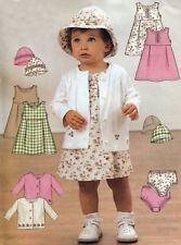 JACKET DRESS PANTIES and HAT | Toddler S-XL | UNCUT Sewing Pattern