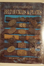 US Confederate Belt Buckles & Plates CS CSA Accoutrement Reference Book