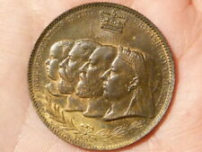 1837-1897 FOUR GENERATIONS OF BRITISH ROYAL FAMILY Medal Lustre & Toned #R6