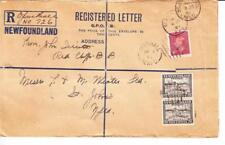 Newfoundland FORMULAR REGISTERED ENVELOPE-TWO CENTS-SIZE H-HG:C1a-