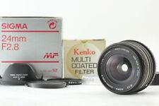 【MINT in BOX】Sigma Super-Wide Ⅱ 24mm f2.8 MF Lens for K Mount from Japan #370