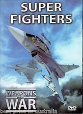 WEAPONS OF WAR -  Superfighters DVD +  BOOK WORLD WAR TWO WWII BRAND NEW R0