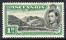 Ascension: 1938 KGVI 1d SG 39 mint