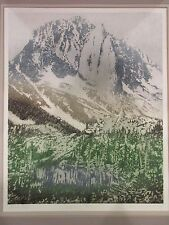 "Catherine Ruane O'Connor ""Grand Slope"" Signed Numbered 129/200 Etching"