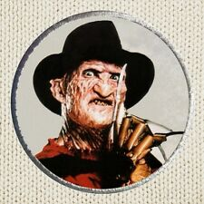 Freddy Krueger Patch Picture Embroidered Border A Nightmare On Elm Street Horror