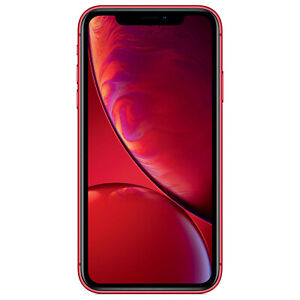 IPHONE XR 64 Go - (Product) Red - Unlocked - Reconditioned - Condition Correct