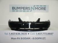 NEW FRONT BUMPER COVER PRIMED FITS 1999-04 FORD MUSTANG BASE MODEL YR3Z17D957EA
