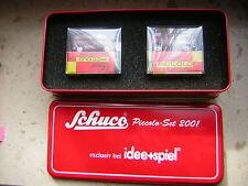 2er Set Edition Schuco Piccolo Set 2001 exclusiv bei idee+spiel in Blechdose