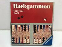 Backgammon von Ravensburger alte Orginalausgabe Brettspiel  Gesellschafts Taktik
