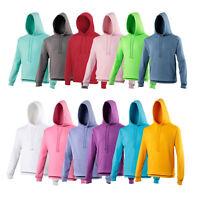 WS JH001 AWDis Mens Hoodie Casual Plain hoody soft hooded sweatshirt top XS-3XL