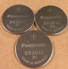 3 BULK PANASONIC BR3032 3V Lithium Batteries - USA Seller