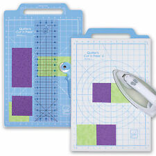 Rotary Cutter Mat Set Cut Press Quilting Sewing Craft Cutting Ironing Board Iron