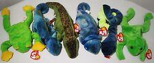 Ty Beanie Bag Babies Plush Toys Lot Stamp Iggy Hissy Sticker Ally 1993/1994 Tags