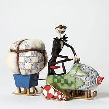 Jim Shore Disney ~ Jack in Snowmobile ~ Nightmare Before Christmas ~ 4046033