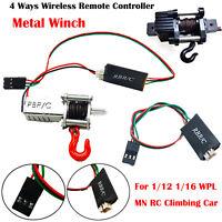 WPL Metallwinde 3-Kanal-Funkfernbedienung für 1/12 1/16 WPL MN RC Kletterauto