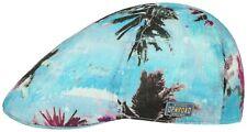 Stetson X Opnroad Summer Linen Duck Cap Flatcap Hat Texas Bluemont 29 New