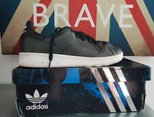 Adidas Stan Smith Star Wars Kids Synthetic Trainers Black Size 4 UK