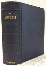 THE HOLY BIBLE (Douay Version) - Douay Catholic Bible, 1944
