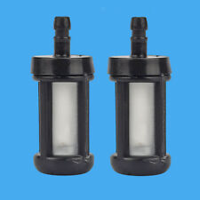 For STIHL FS120 FS200 FS250 FS300 Trimmer Fuel filter 2Pcs