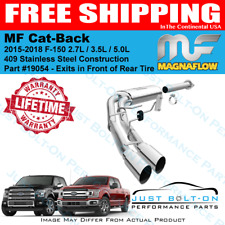 Magnaflow Cat-Back Exhaust System For 2015-2019 Ford F-150 2.7L 3.5L 5.0L 19054