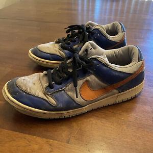 Nike Dunk Low Pro Royal Syracuse Knicks 624044-481 SB 2003 EU COJP   Size 13