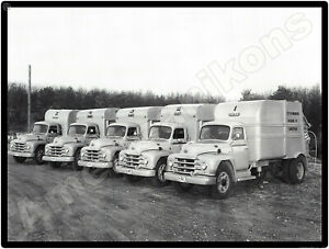 1953 Diamond T Garbage Trucks New Metal Sign: Model 422 - City of Warwick