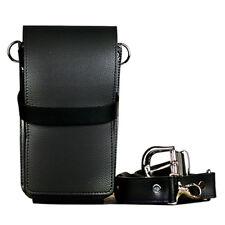 Truewin Hairdressing Scissors 4 pkt Leather Holder Holster TW 65-1100 Black