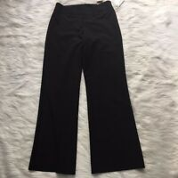 Worthington Womens 6 Black Modern Fit Career Work Stretch Dress Pants Trousers