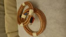 Vecteur CV30 speaker cables, 2 x 3m . OFC solid copper, 4mm banana plugs