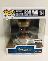 Funko Pop Iron Man Avengers Assemble Amazon Exclusive