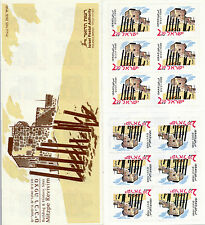 ISRAEL 2005 MITZPE REVIVIM BOOKLET PHOSPHOR LINES ON STAMPS ONLY MNH