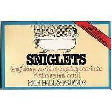 Sniglets (Snig'lit : Any Word That Doesn't Appear in the Dictionary-ExLibrary
