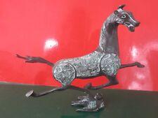 altes Pferd Bronze Skulptur fliegendes Pferd Sammelwert