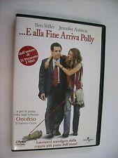 E ALLA FINE ARRIVA POLLY - DVD PAL EXCELLENT CONDITION - JENNIFER ANISTON