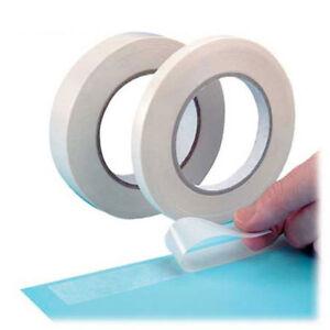 1pc 12m doble cara cara fuerte cinta adhesiva FO escuela de oficina Sup*ws