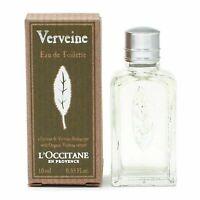 L'Occitane En Provence VERBENA Eau de Toilette Splash 0.33 oz EDT Perfume NIB
