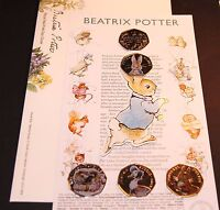 2016 NEW Beatrix Potter First Day Cover Peter Rabbit ALBUM COLLECTION ~NO COINS#