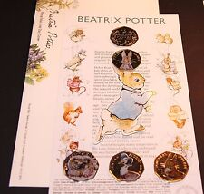 2016 NEW Beatrix Potter First Day Envelope / Cover 2017 Peter Rabbit BUNNY ALBUM