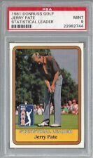 1981 Donruss Golf Jerry Pate Statistical Leader PSA 9 MINT 22982744
