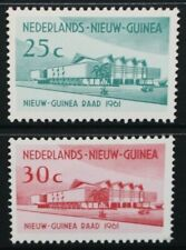 NETHERLANDS NEW GUINEA 1961 Opening of Council Building. Set of 2. MNH. SG73/74.
