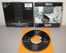 NIRVANA Bleach Official 90's Malaysian Imp 13trk CD Grohl Cobain SUB POP Grunge